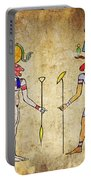 Egyptian Gods And Goddess Portable Battery Charger