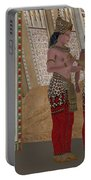 Egyptian King And Queen Portable Battery Charger