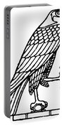 Egyptian Symbol: Falcon Portable Battery Charger