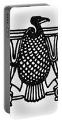 Egyptian Symbol: Vulture Portable Battery Charger