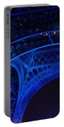 Eiffel Blue Portable Battery Charger