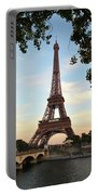 Eiffel On The Seine Portable Battery Charger