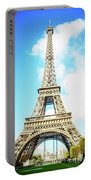 Eiffel Tower Portrait Portable Battery Charger