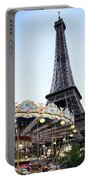 Eiffel Tower 7 Portable Battery Charger