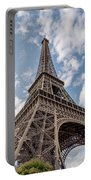 Eiffel Tower In Paris Portable Battery Charger
