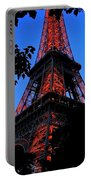 Eiffel Tower Portable Battery Charger by Juergen Weiss