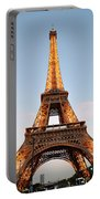 Eiffel Tower Lighted  Portable Battery Charger