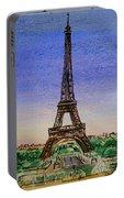 Eiffel Tower Paris France Portable Battery Charger