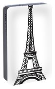 Eiffel Tower Up Portable Battery Charger
