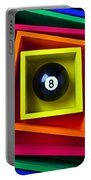 Eight Ball In Box Portable Battery Charger
