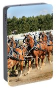 Belgian Eight Horse Hitch  Portable Battery Charger