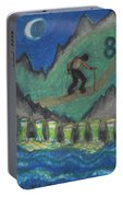 Eight Of Cups Illustrated Portable Battery Charger