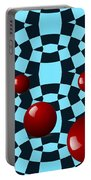 Eight Red Balls Portable Battery Charger
