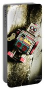 Eighties Cybernetic Droid  Portable Battery Charger
