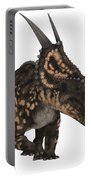 Einiosaurus On White Portable Battery Charger