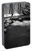 Eisbach In The Winter Portable Battery Charger