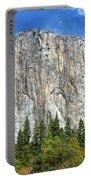 El Capitan In Yosemite National Park Portable Battery Charger