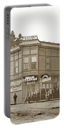 El Carmelo Bakery Lighthouse And Forest Ave. Circa 1890 Portable Battery Charger