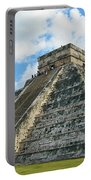 El Castillo Of Chichen Itza Portable Battery Charger