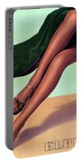 1be22033e81 Elbeo Tights And Stockings - High Heels - Vintage Advertising Poster  Portable Battery Charger