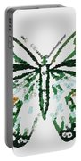 Election 2020 Presidential Candidate Catherien Lott Usa Green Butterfly Portable Battery Charger