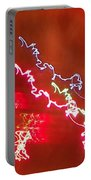 Electric Dazzle Abstract Portable Battery Charger