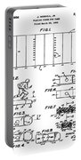 Electric Football Patent 1955 Portable Battery Charger