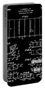 Electric Football Patent 1955 Black Portable Battery Charger