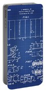 Electric Football Patent 1955 Blueprint Portable Battery Charger