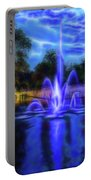 Electric Fountain  Portable Battery Charger