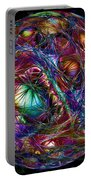Electric Neon Abstract Portable Battery Charger