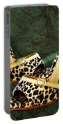 Electric Slide In Leopard Portable Battery Charger