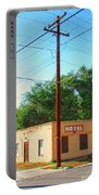 Electromagnetic Motel Portable Battery Charger