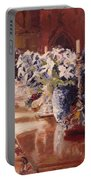 Elegant Dining At Hearst Castle Portable Battery Charger