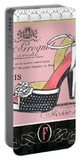 Elegant French Shoes 2 Portable Battery Charger