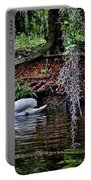 Elegant Swan Portable Battery Charger