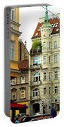 Elegant Vienna Apartment Building Portable Battery Charger
