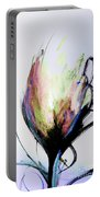 Elemental In Color Abstract Painting Portable Battery Charger