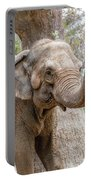 Elephant And Tree Trunk Portable Battery Charger