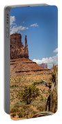 Elephant Butte - Monument Valley - Arizona Portable Battery Charger