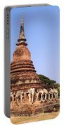 Elephant Chedi Historical Place Portable Battery Charger