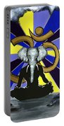 Elephant Man  Portable Battery Charger