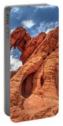 Elephant Rock, Valley Of Fire State Park, Nevada Portable Battery Charger