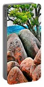 Elephant Rocks And Tree Portable Battery Charger