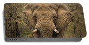 Elephant Watching Portable Battery Charger