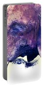 Elephant Watercolor Painting Portable Battery Charger