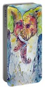 Elephants In Love Portable Battery Charger