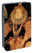Elizabeth I Armada Portrait Portable Battery Charger