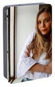 Elizabeth Olsen Portable Battery Charger