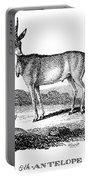 Elk Antelope Portable Battery Charger